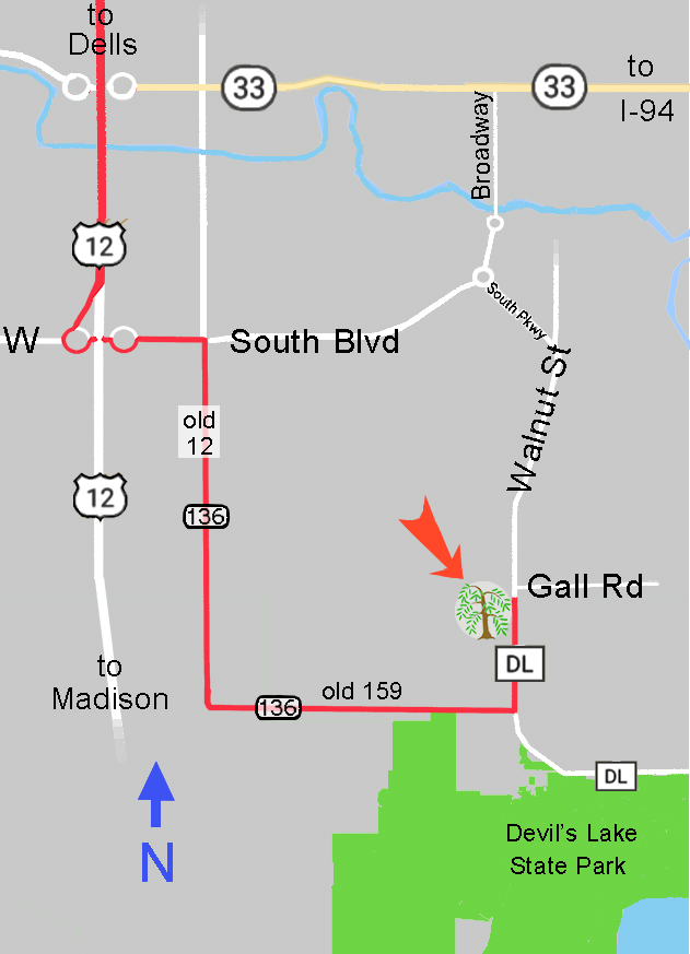 new route due to highway 12 bypass