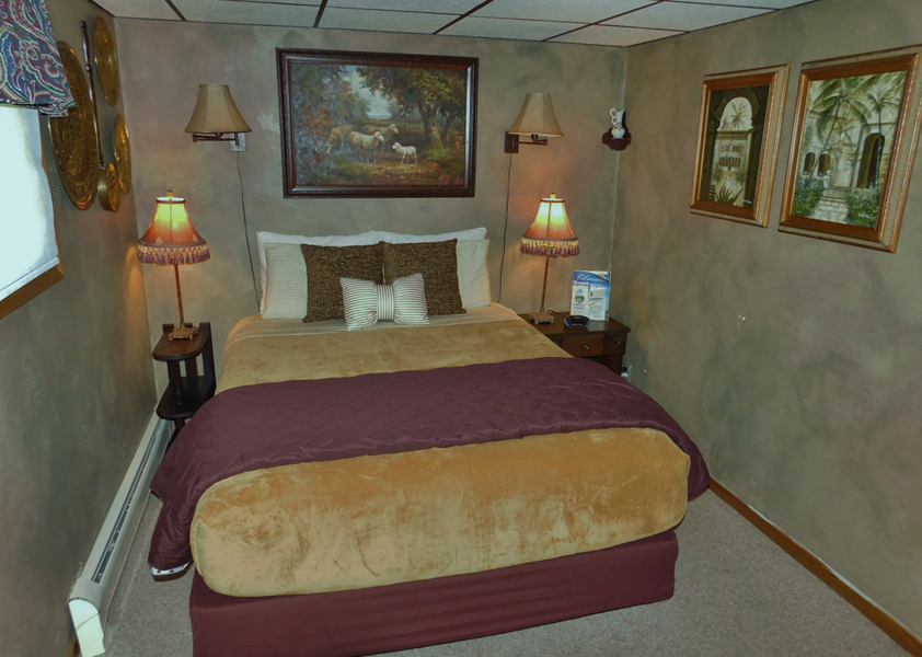 Photo of room at WilloWood Inn motel Baraboo